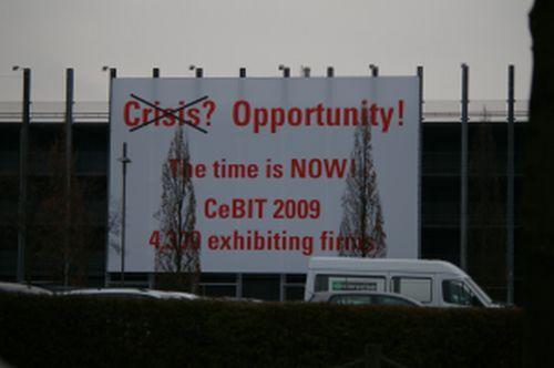 Crisis no, oportunidad