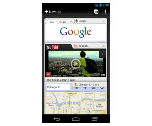 Google Chrome para dispositivos Android