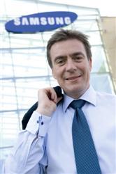 Graham Long, vicepresidente europeo de impresión de Samsung