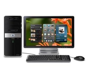 PC HP con Windows y webOS