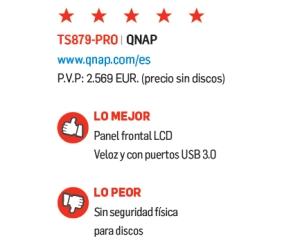 Ficha técnica de NAS QNAP
