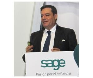 Álvaro Ramírez, CEO de Sage Europa