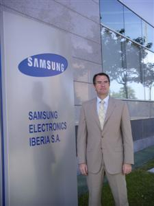 Juan Antonio del Río, responsable de la división de TI de Samsung