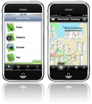 Aplicaciones empresariales de iPhone