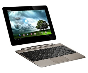 Asus Eee Pad Transformer con quad-core