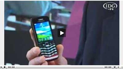 RIM presenta su primera BlackBerry Pearl 3G