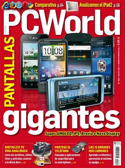 Portada PC World mayo 2011