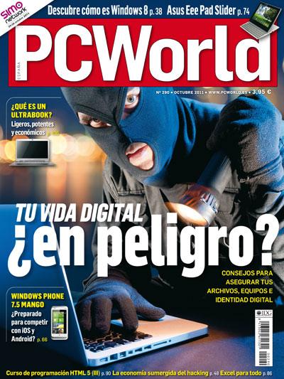 Portada PC World octubre 2011