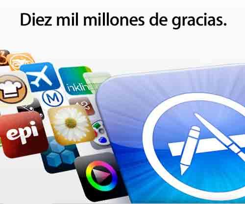La App Store llega a los 10.000 millones de descargas