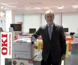 Javier TOledo, presidente ejecutivo de Oki Systems Ibérica