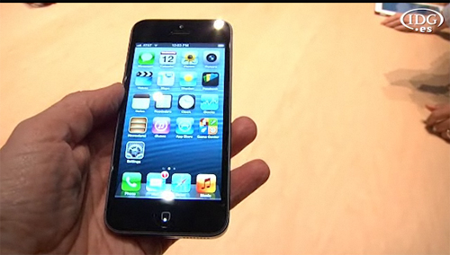 Apple presenta el iPhone 5