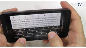 Blackberry Z10 a examen