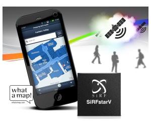 Nuevo chip para móviles que permite la navegación por satélite en interiores, donde habitualmente la señal de los GPS no tienen acceso  CSR_SIRF-FUSION_26102011_WEB