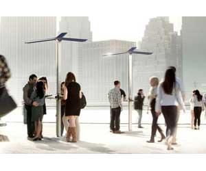 estaciones de carga solar en Nueva York