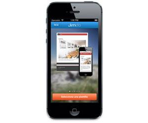 Jimdo para iOS en España