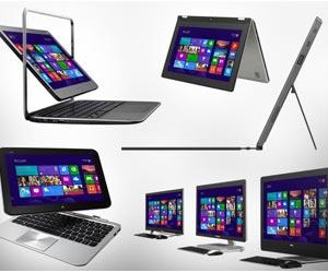 Windows 8 tablets PC portatiles