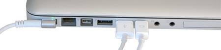 Mangera de cables del nuevo LED Cinema Display de 24 pugladas.