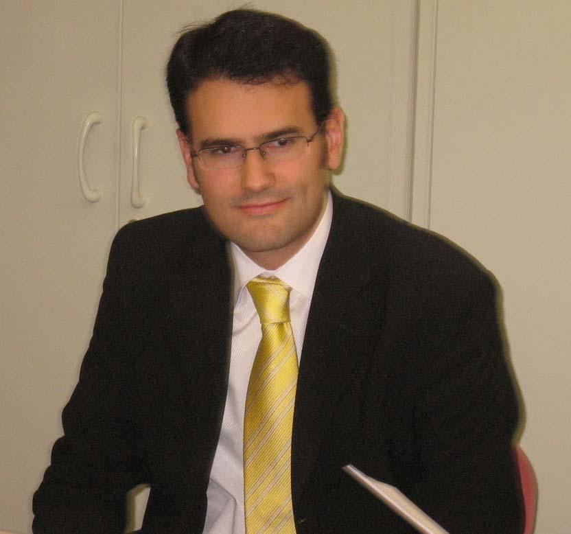 Alberto Martínez, responsable Red Corporativa Junta Castilla y León