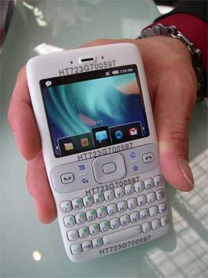 Prototipo de Android por Texas Instruments