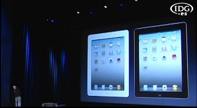 Jobs presenta el iPad 2
