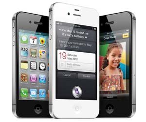 Apple iPhone 4S Samsung smartphones
