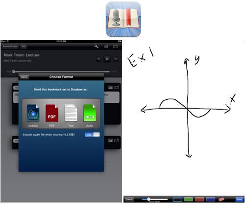 Aplicacion ipad para tomar notas en reuniones