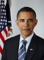 barack obama, presidente, retrato, foto oficial, Estados Unidos, casa blanca