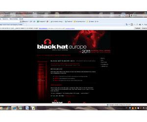 Black Hat Europe 2011