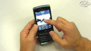 BlackBerry Torch 9800 con OS 6