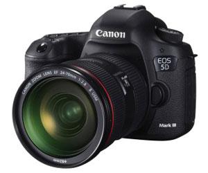 Canon presenta la cámara EOS 5D Mark III