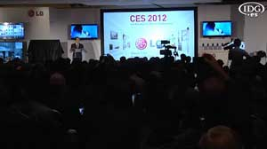 CES 2012: LG presenta nuevas pantallas