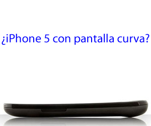 iPhone pantalla curva