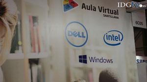 Dell, Intel y Microsoft exhiben su tecnolog�a para educaci�n en el Aula Virtual Santillana