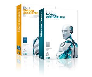 Eset NOD32 Antivirus 5 y Eset Smart Security 5