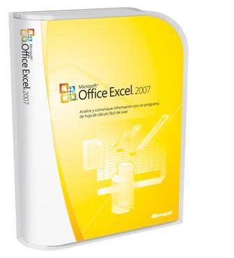 Microsoft Office Excel 2007 caja