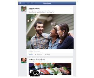 Primera app de Facebook específica para iPad