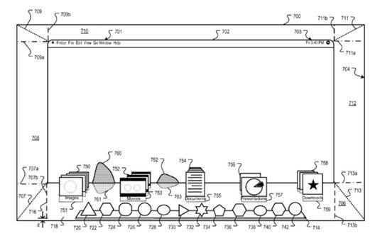 Patente de Finder multi-dimensional
