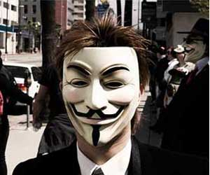 Anonymous ciberataques seguridad hackers
