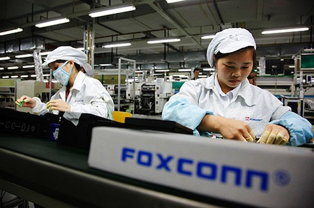 Apple podría estar asumiendo parte del aumento de los sueldos de los empleados de Foxconn