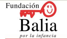 Logo fundación Balia