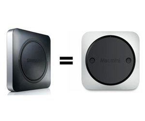 Samsung &quot;imita&quot; el dise&ntilde;o del Mac mini en su nuevo Chromebox