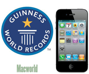 iPhone record