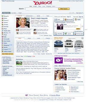 Home de Yahoo