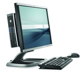 PC de sobremesa HP Compaq 8000f Elite Ultra Slim