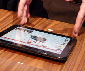tablet HP Touchpad con webOS