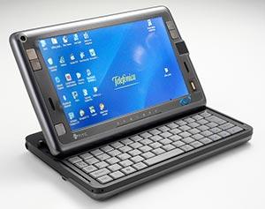 Telefónica ha añadido a su catálogo de terminales móviles el ultramóvil HTC Shift