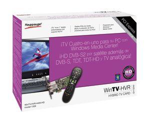 Sintonizadora Hauppauge de TDT, satélite y radio