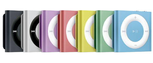 Apple presenta la nueva generación iPod touch, nano y shuffle