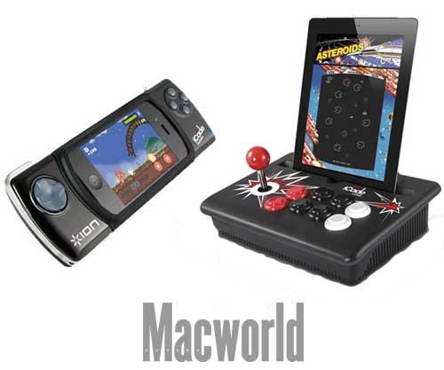 Accesorios iCade para iPhone, iPad e iPod touch