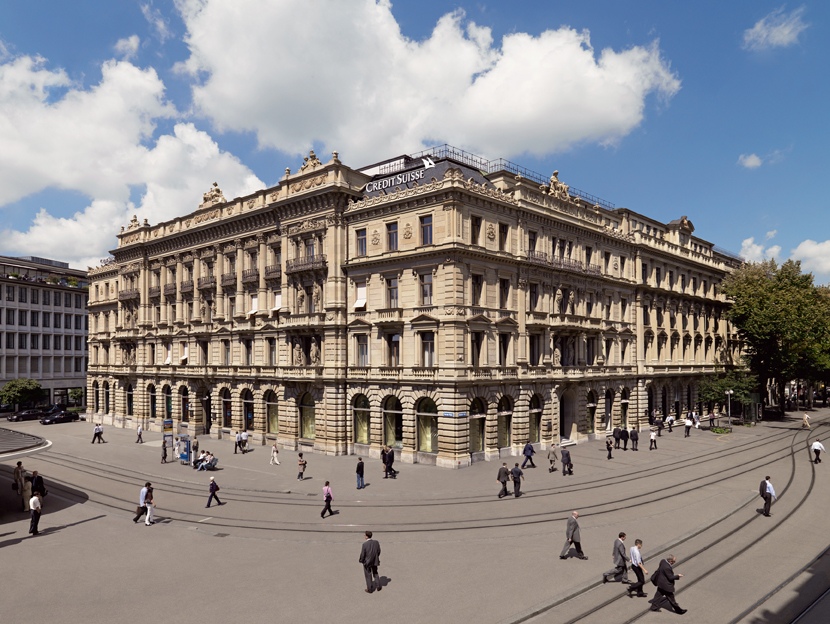 Sede de Credit Suisse (Zurich, Suiza)